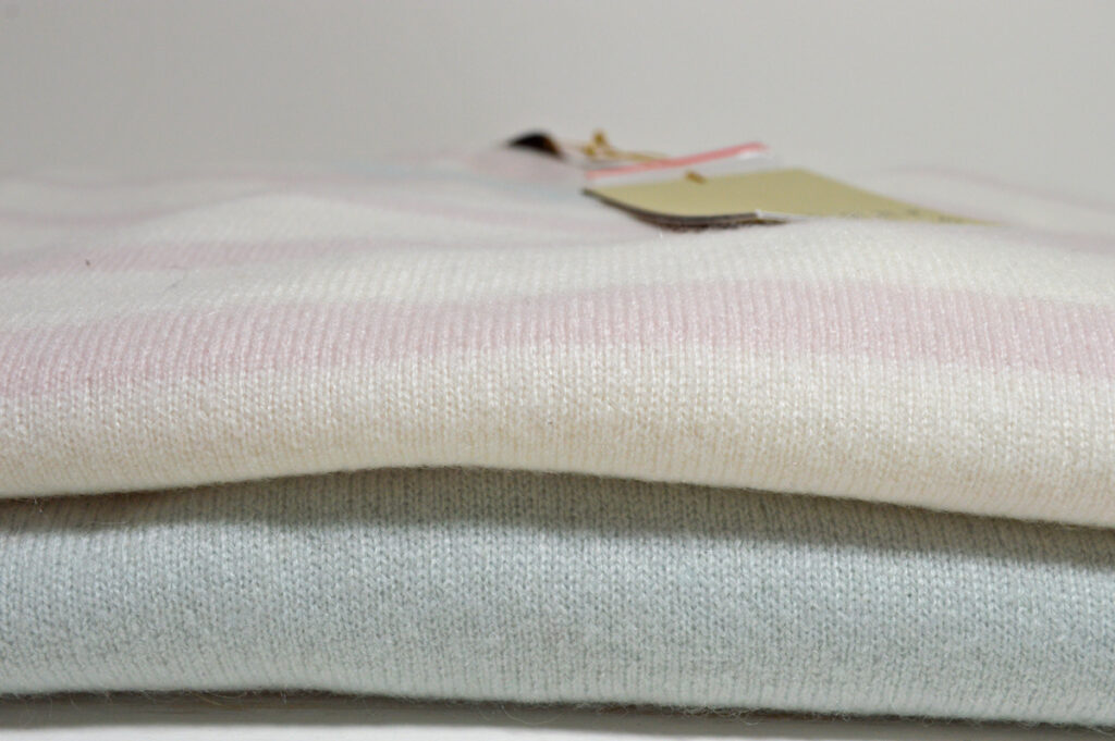 Jumper 1 2 3 4. Pink Stripe and Blue V neck