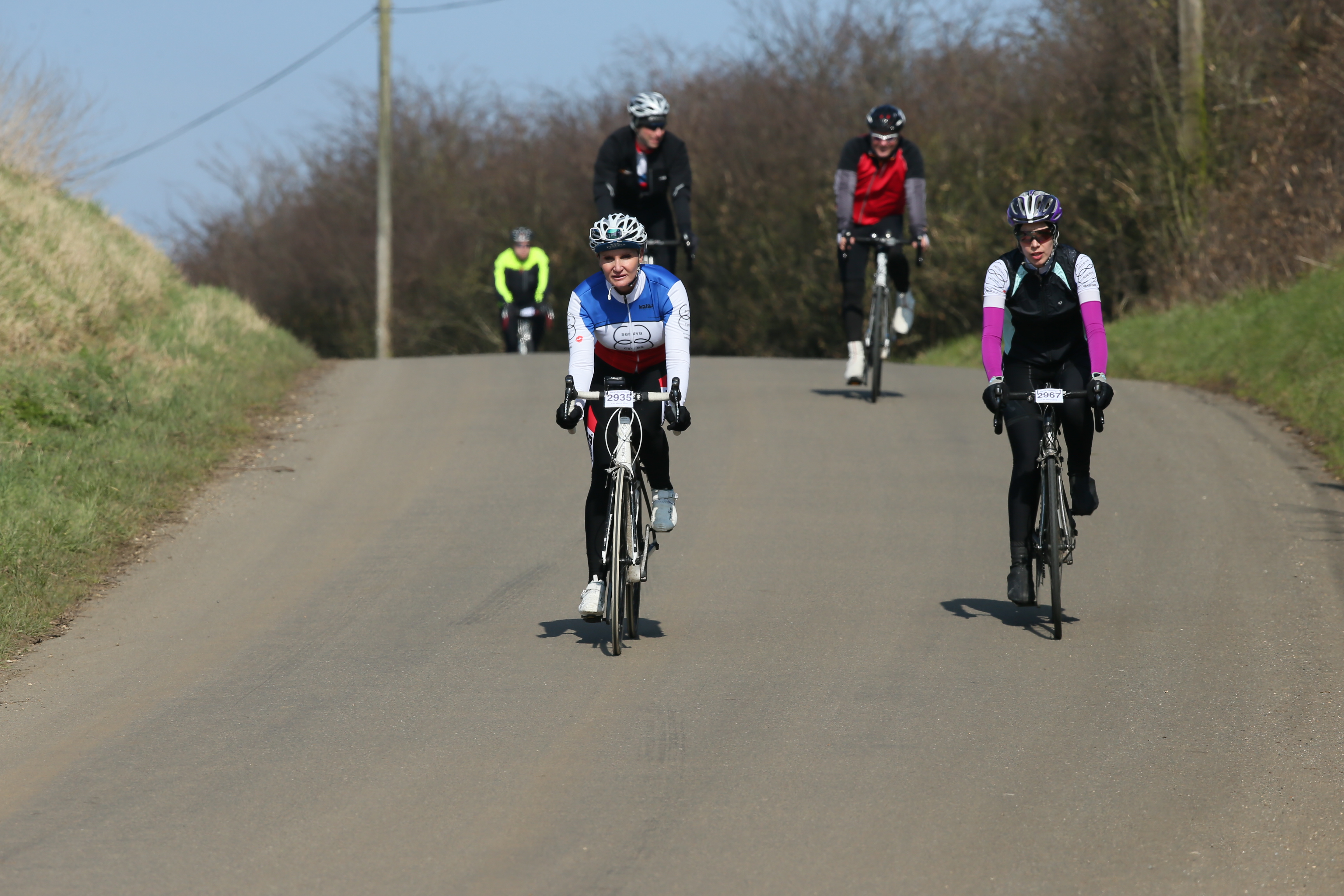 Wares Cambridge Sportive 2016 - by J at Ware, England, on 13 March 2016. Copyright 2016 owned by James Rudd
