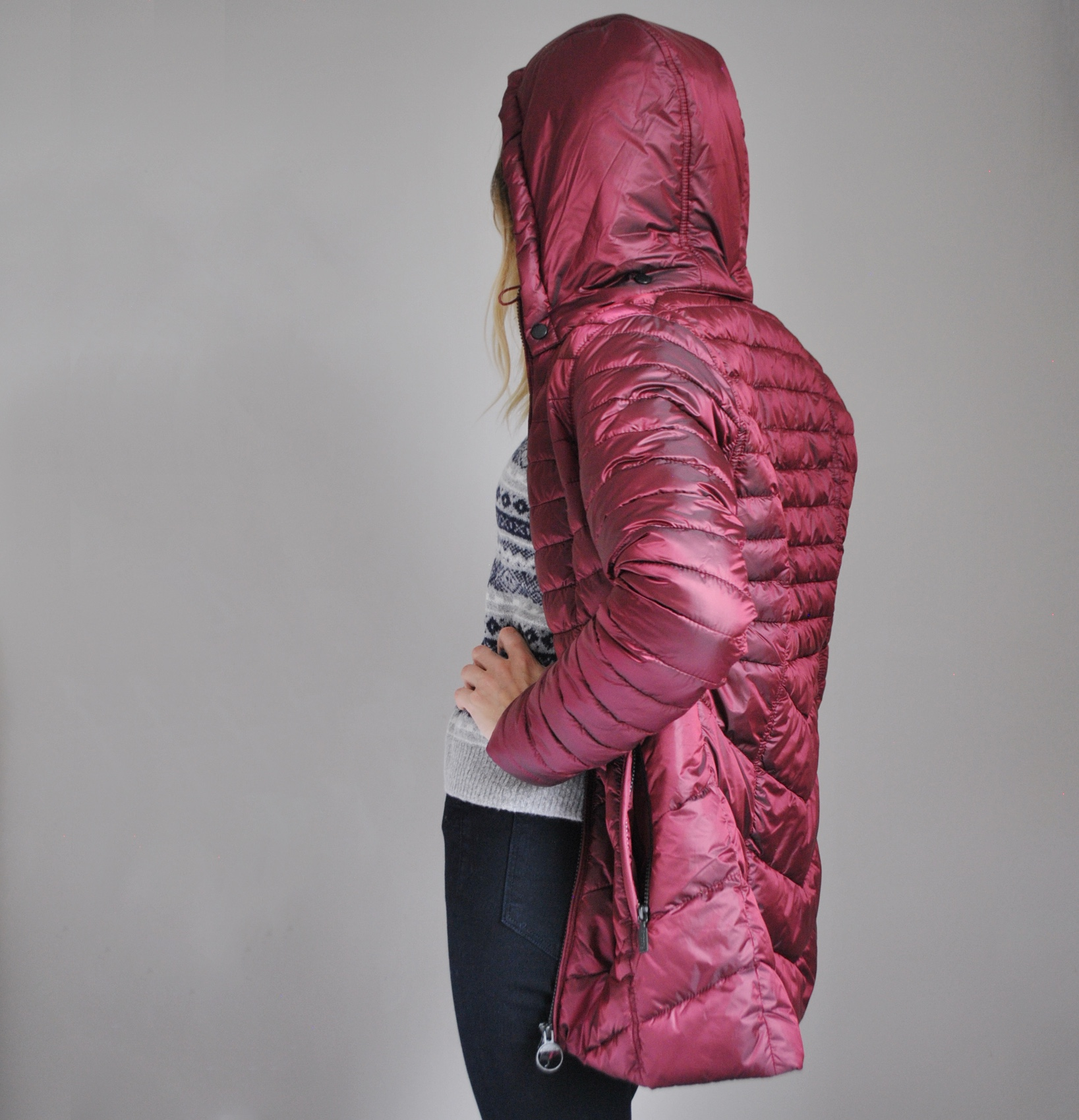 Red Barbour Jacket