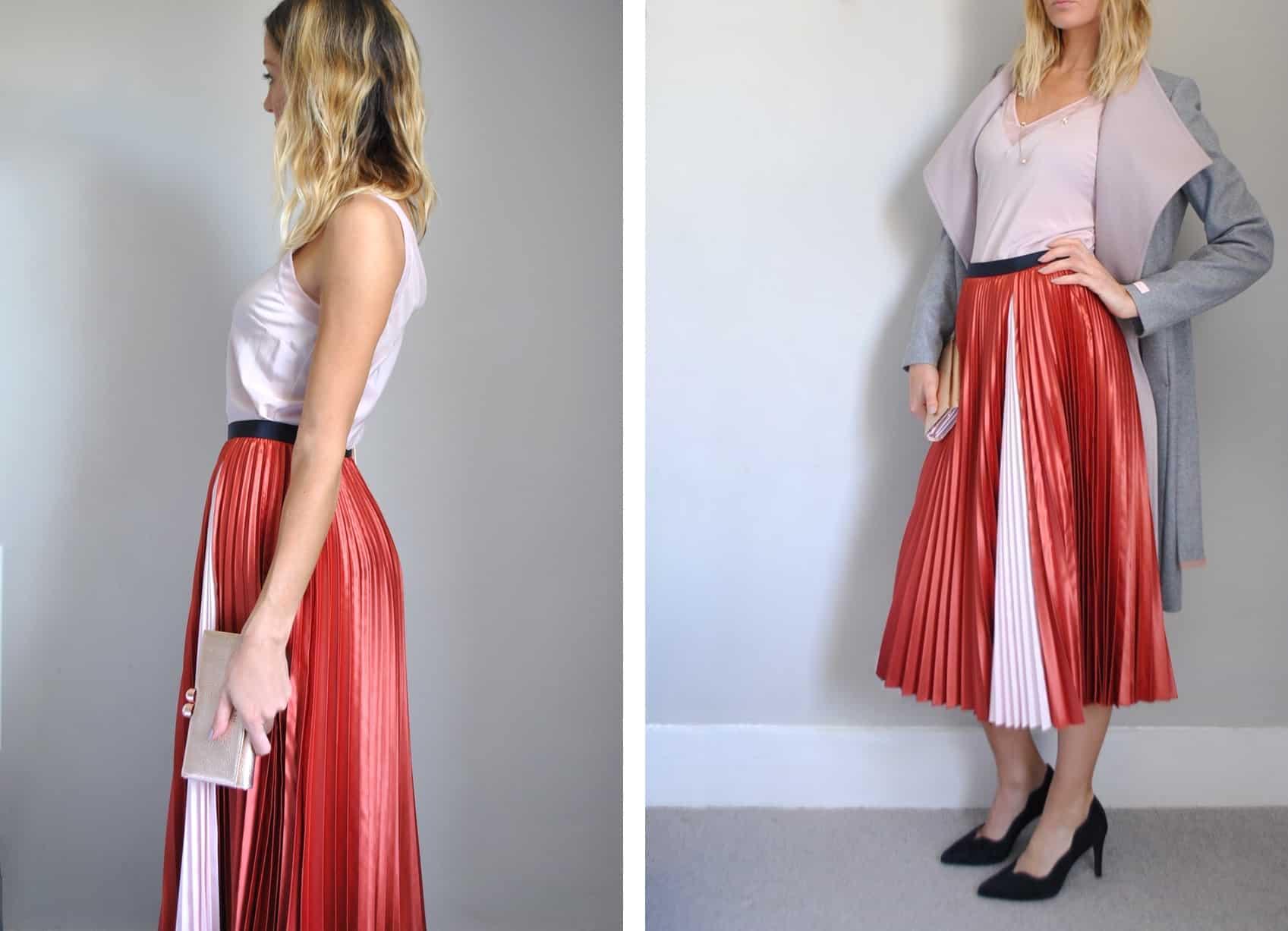 Ted-Baker-pleated-skirt