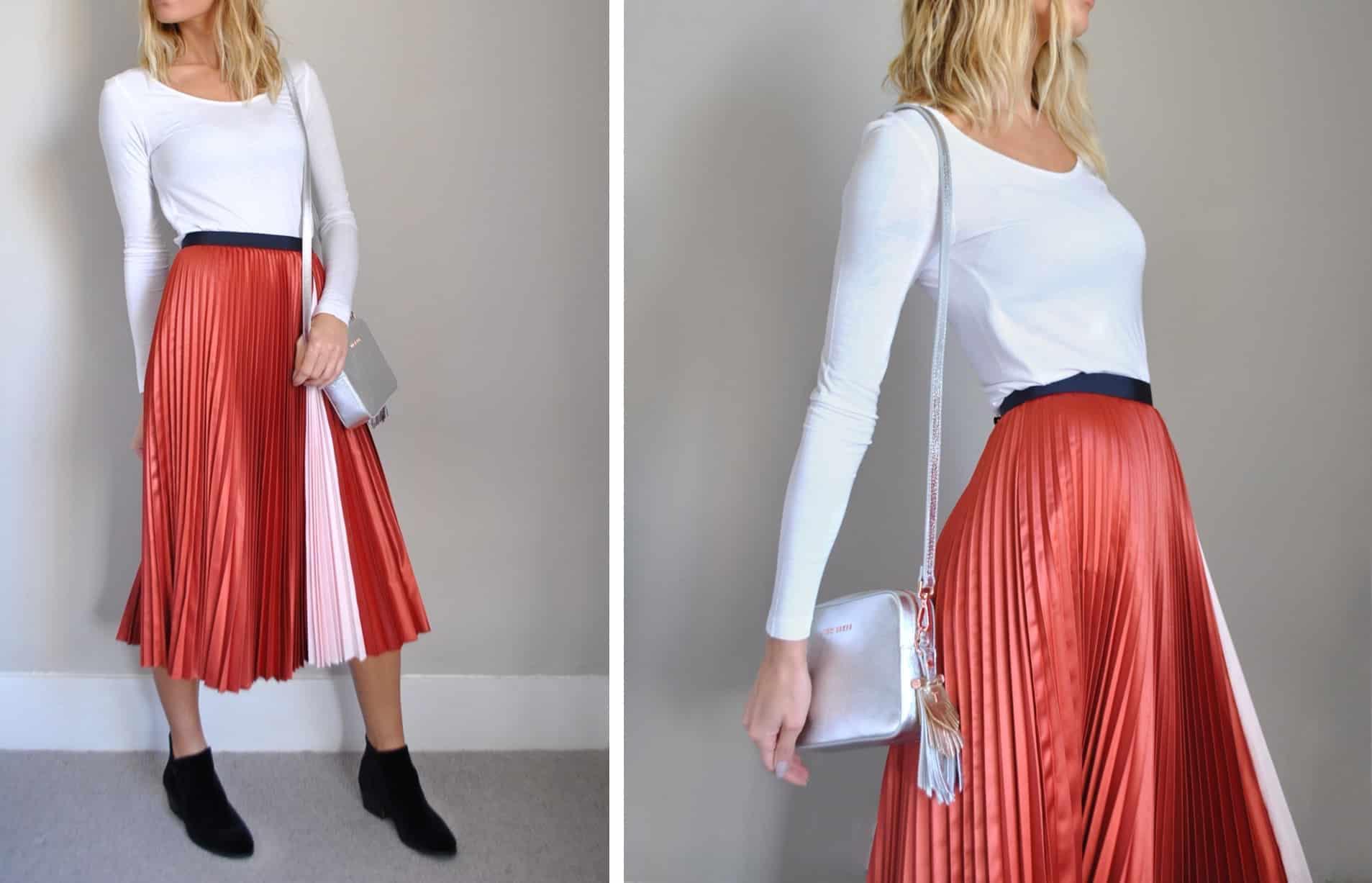 Ted Pleated Skirt