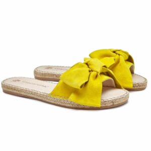 MACARENA Playa bow sliders YELLOW