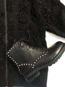 Ash wolf biker boots