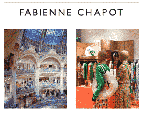 Popup shop in Galeries Lafayette Paris