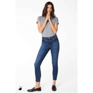 J BRAND JEANS alana high rise crop skinny jeans ARCADE